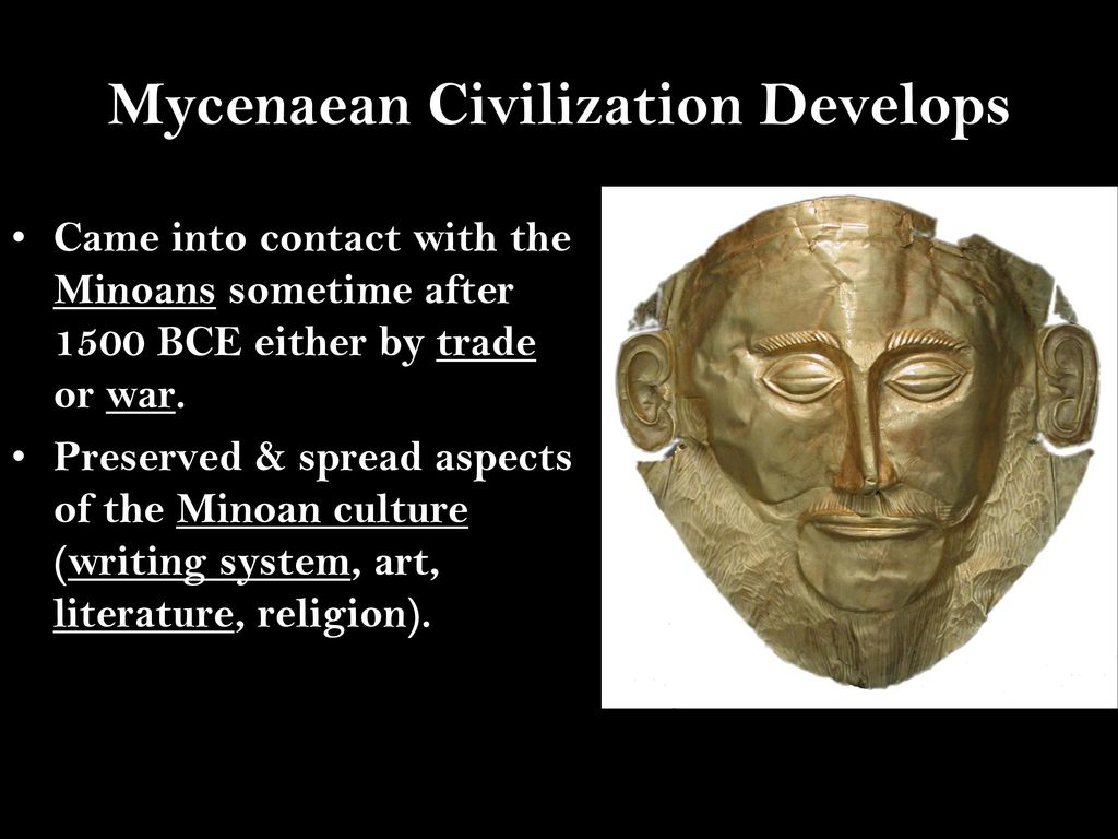 how did the minoans influence the mycenaean civilization history essay At this point in time religion is not prevalent or influential the european religion    the first two greek civilizations were the minoan civilization and the  mycenaean civilization the minoan  summary of greek history essay term  paper.