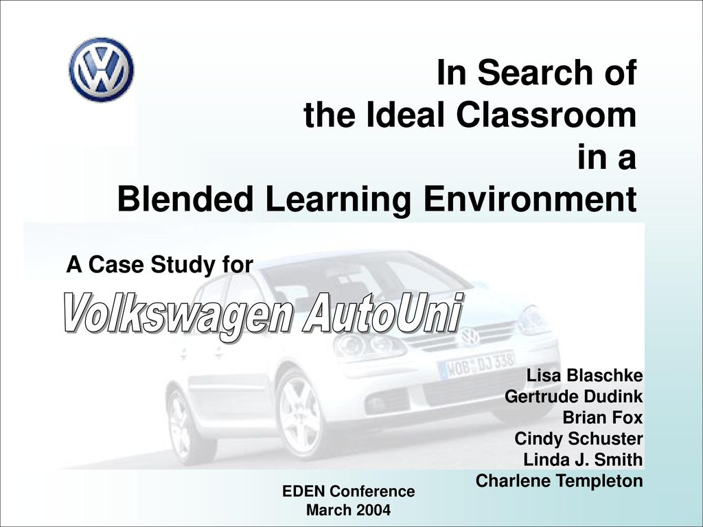 Blended Learning Environment