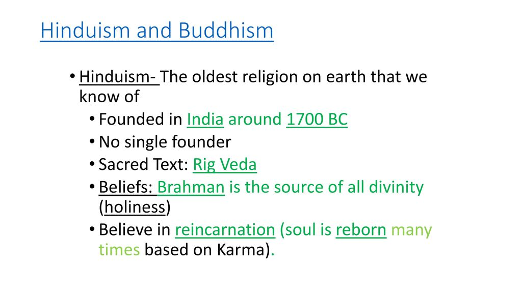 Hinduism Buddhism And Confucianism The Oldest Religions Ppt - Oldest religion