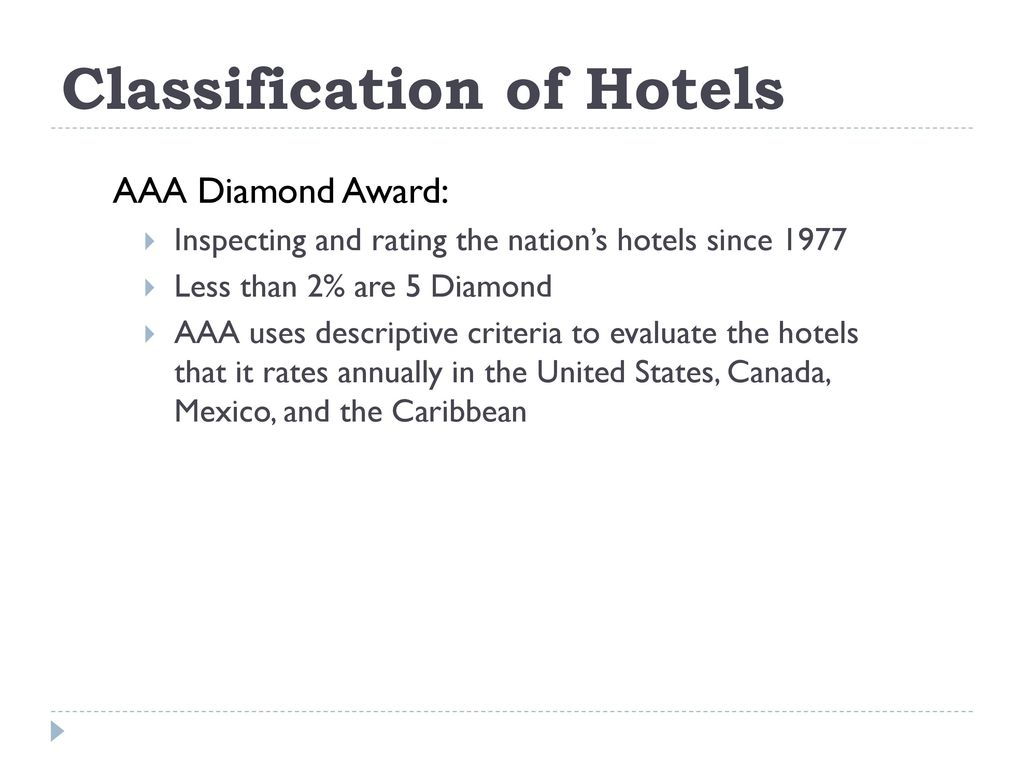world practices hotel classification World practices hotel classification  asia pacific journal of tourism research, vol 13, no 4, december 2008 world practices of hotel classification systems.