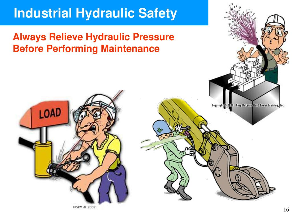 Hydraulic Pressure Safety : Industrial hydraulic safety ppt video online download