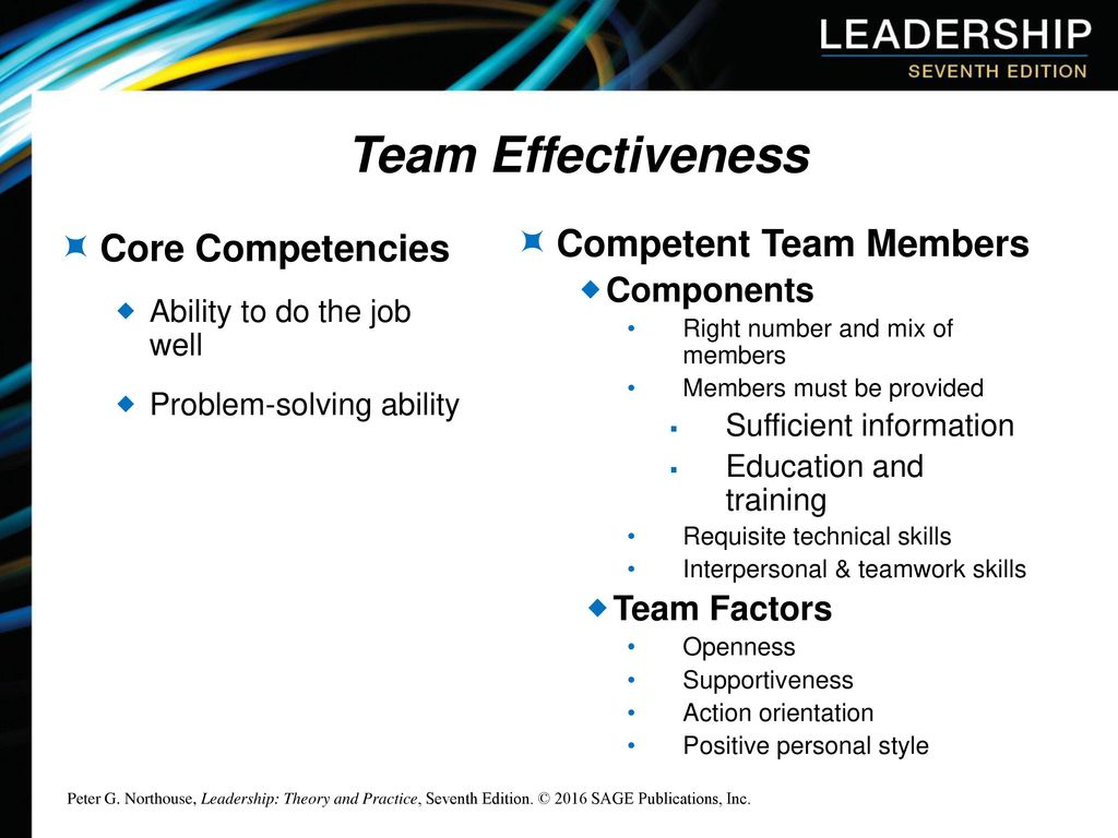 personal team effectiveness Us office of personnel management the effectiveness of team meetings team level: the team's performance: the team.