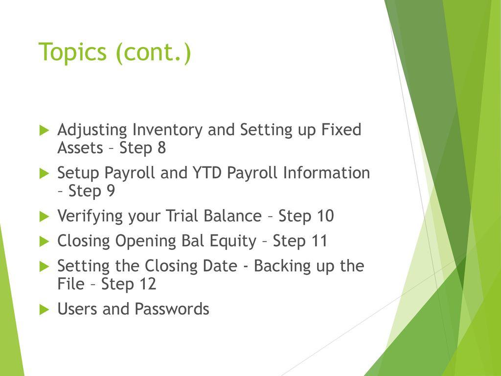 Linda Bliley, CMA, EA Bliley Tax and Accounting LLC - ppt download