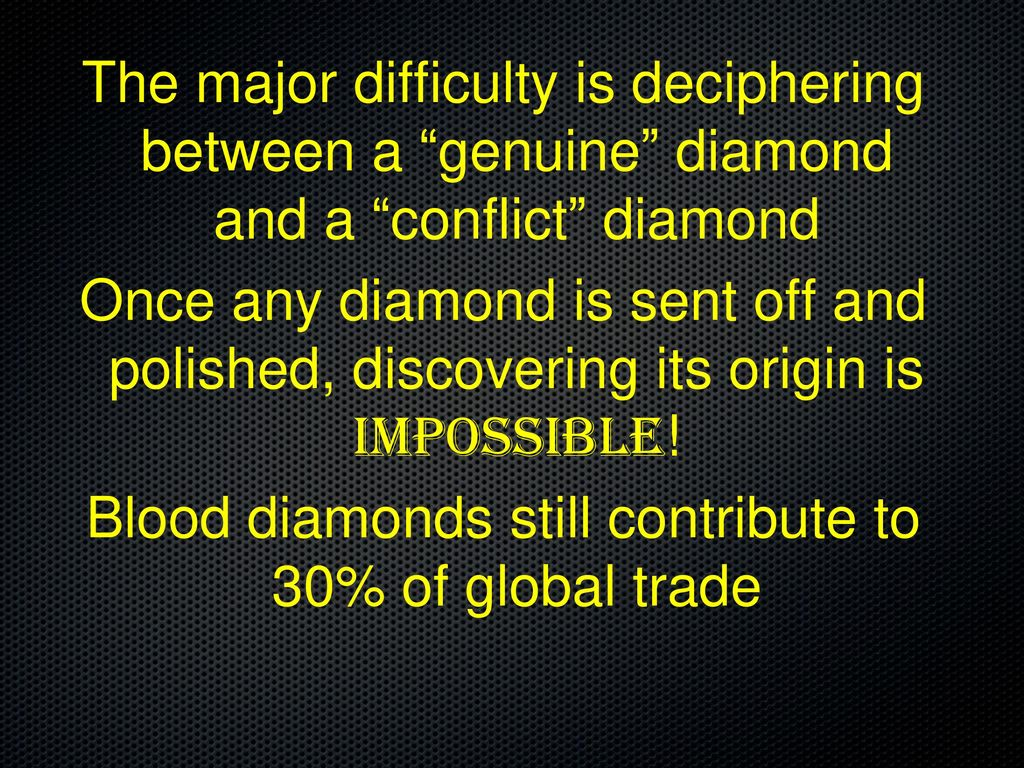 a diamond diamonds education is by conflict matthies blood alexa presentation what