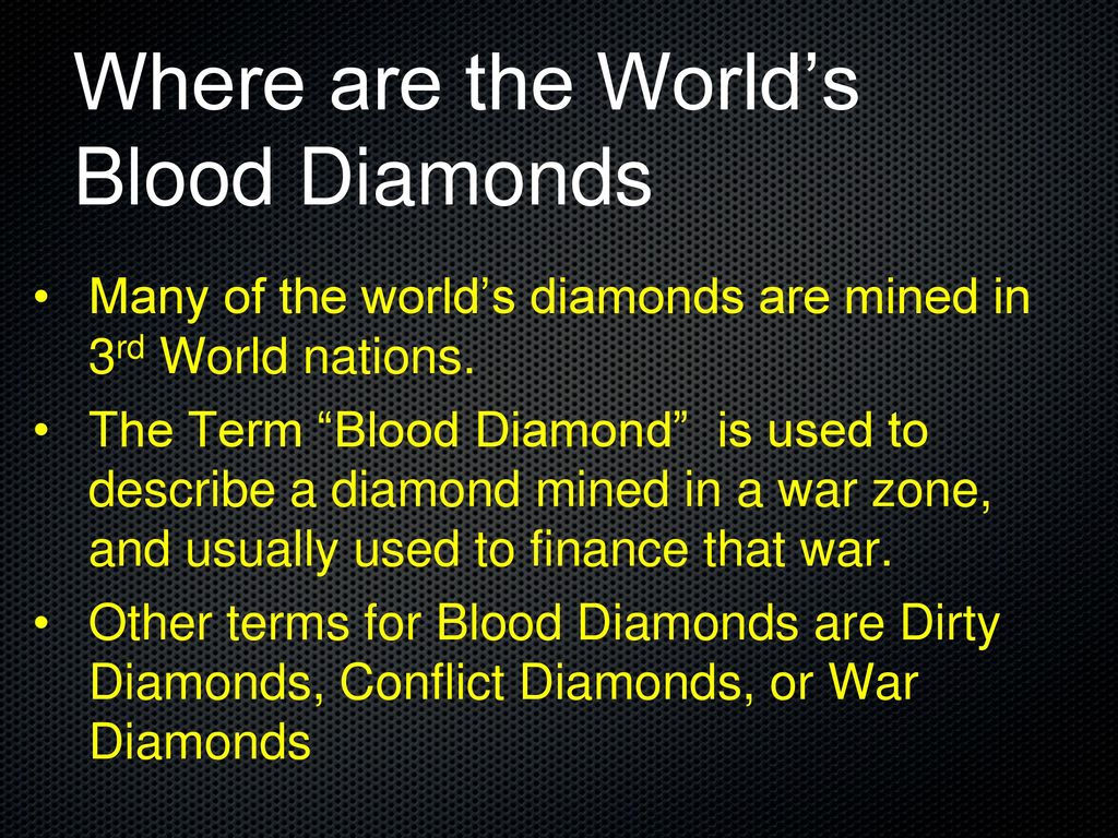 diamonds en kimberley the us of about years process is to history signed diamond conflict impact end trade