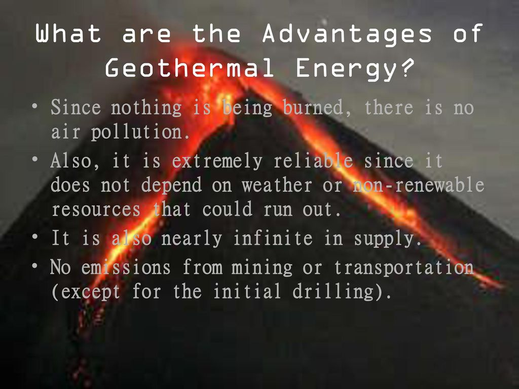 Advantages and Disadvantages of Geothermal Energy - The Source of Renewable Heat