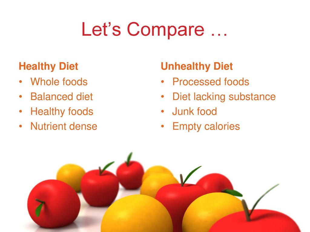 Healthy food pbl