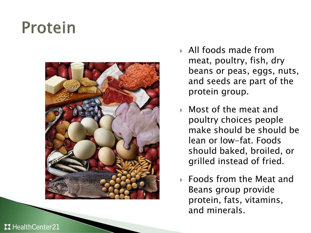 Meat poultry fish dry beans eggs and nuts group