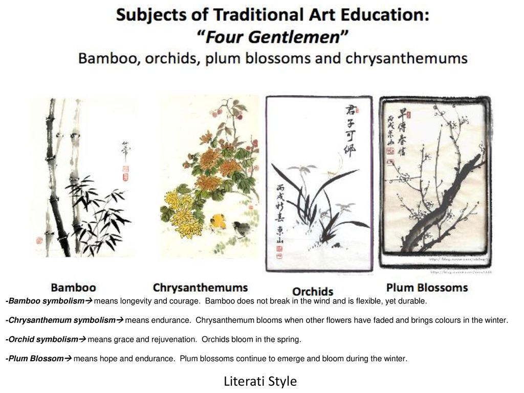 Chinese art literati professional ppt video online download 22 bamboo symbolism buycottarizona Image collections