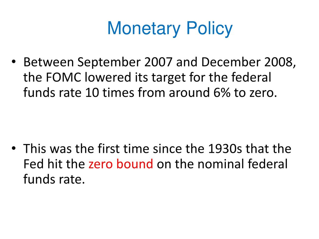 monetary policy and its affect on Monetary policy is the process by which the monetary the short-term effects of monetary policy can be influenced by the degree to which announcements of.