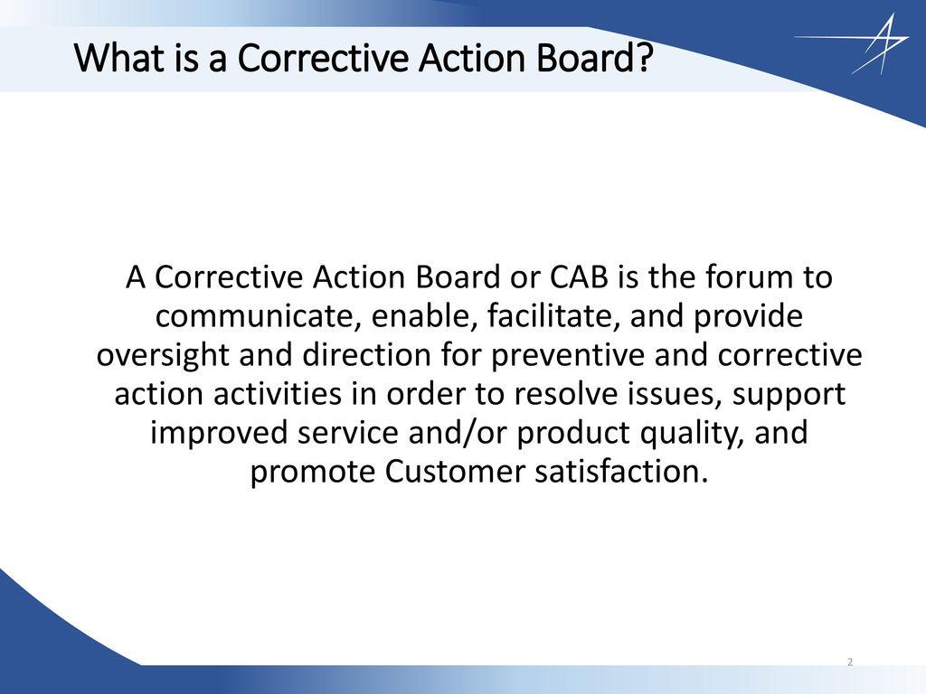 A little corrective action 7