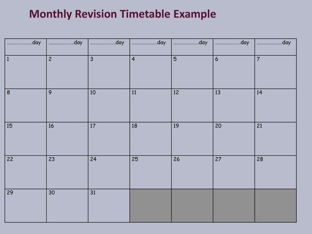 Revision timetable template blank it coupon template download revision timetable template blank it revision timetable template blank it pronofoot35fo Choice Image