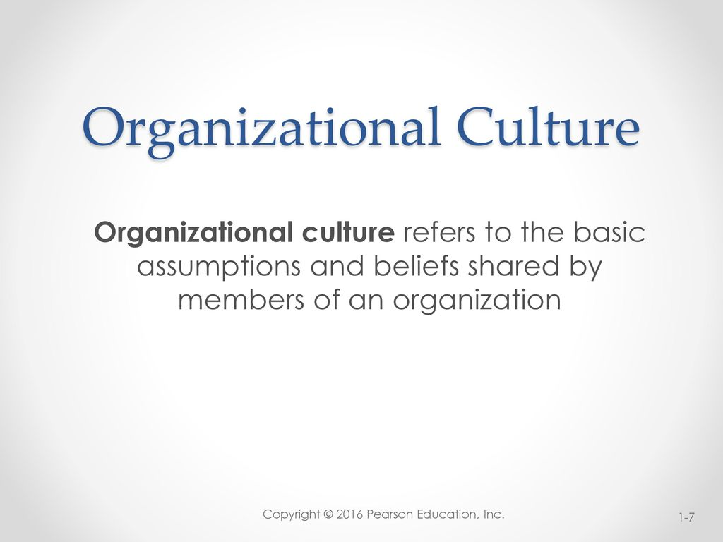 organizational culture shared basic assumptions According to schein (2004), organizational culture is a pattern of shared basic assumptions that a group working together for a common goal has invented in learning to cope with the problems of external adaptation and internal integration.