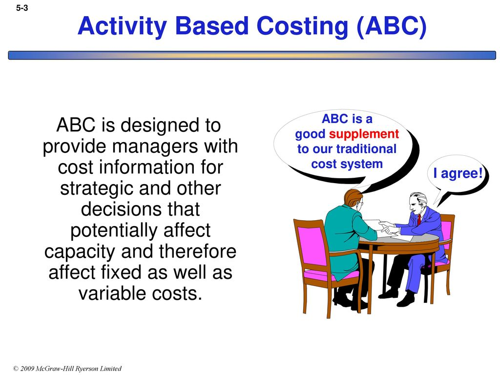 activity based costing abc hunter company With its beginnings in the 1980s, activity-based costing (abc) has evolved into a methodology used by both manufacturing and services companies to expand their cost accounting capabilities.