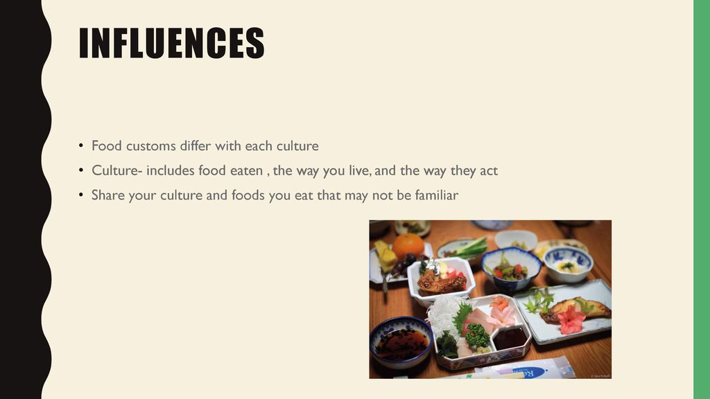 the influences of different cultures Given that cultures vary in their customs and beliefs, the same behavior may be interpreted differently across cultures.