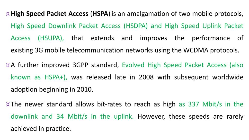 UNIT-IV WIRELESS WIDE AREA NETWORK