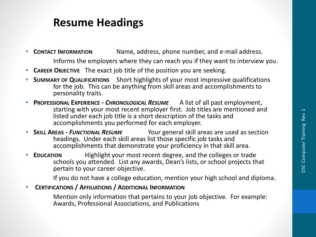 diy resume  u0026 cover letter writing guide