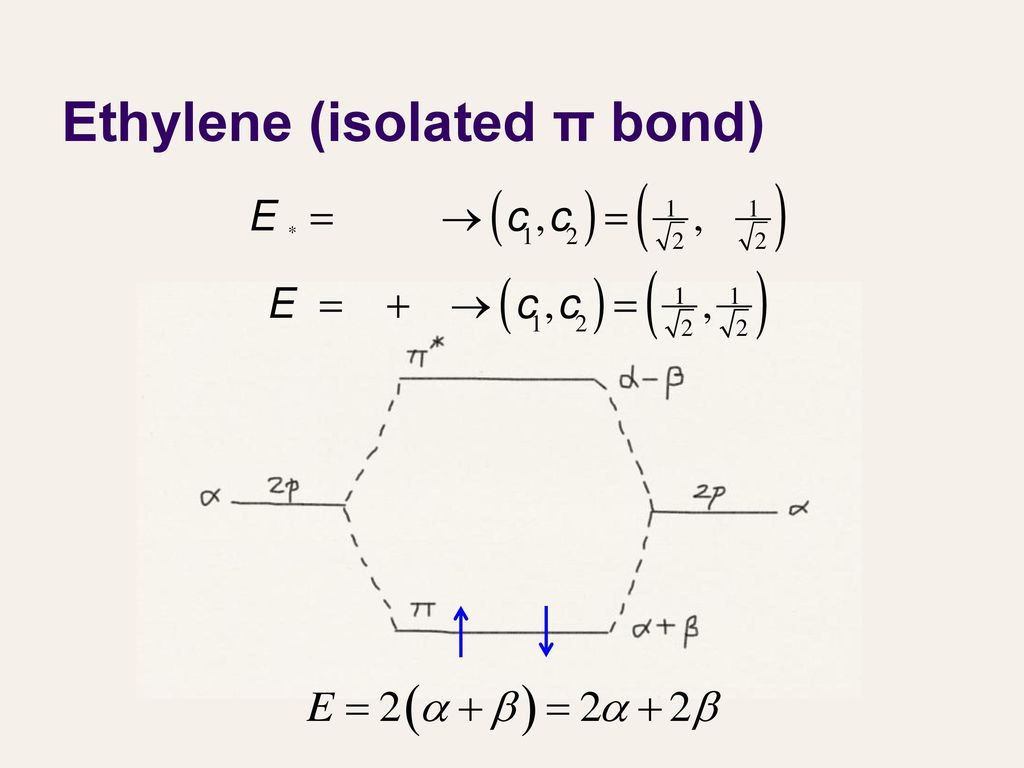 Lecture 27 molecular orbital theory iii ppt download 18 ethylene isolated bond pooptronica Choice Image
