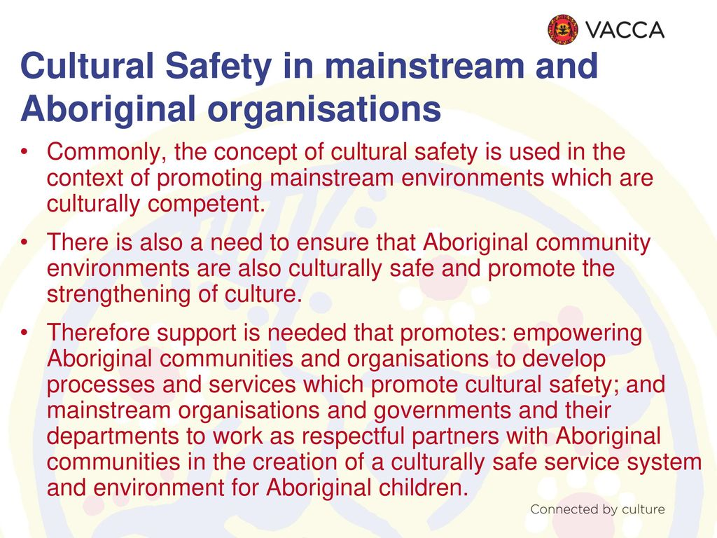 how to create a culturally safe environment