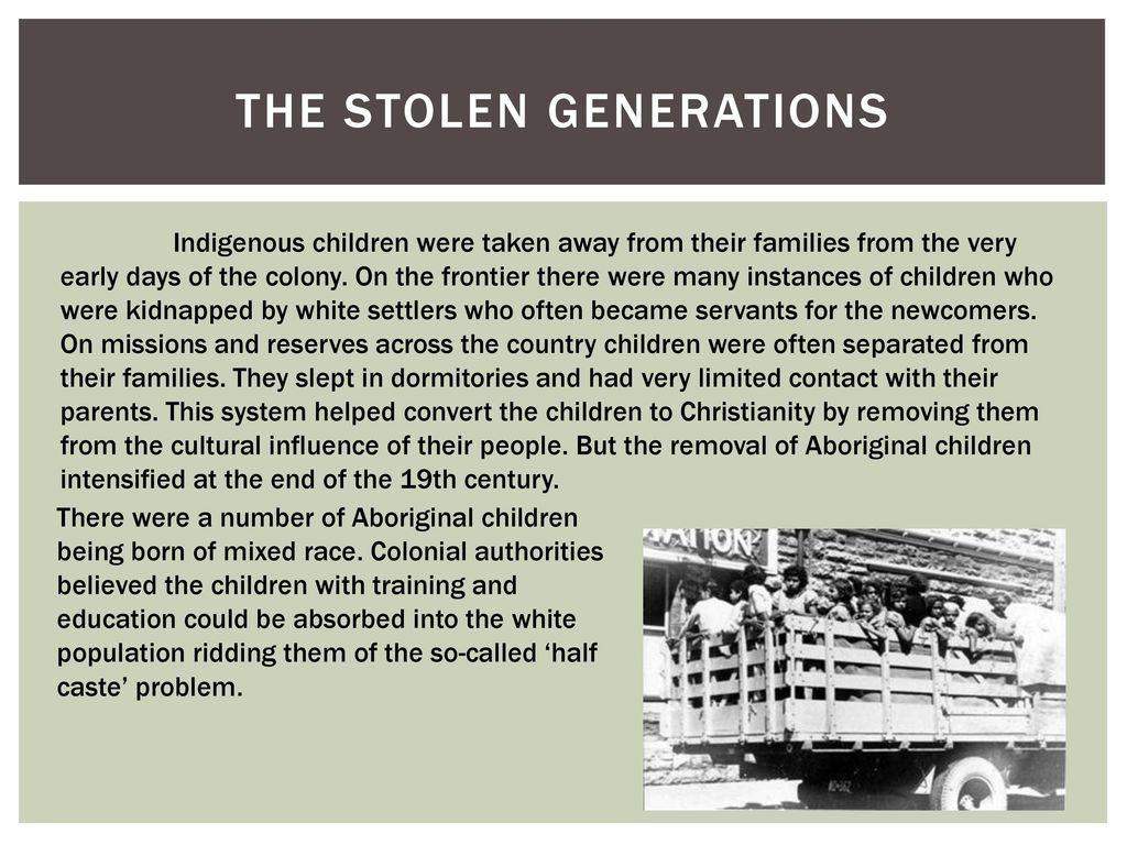 stolen aboriginal children