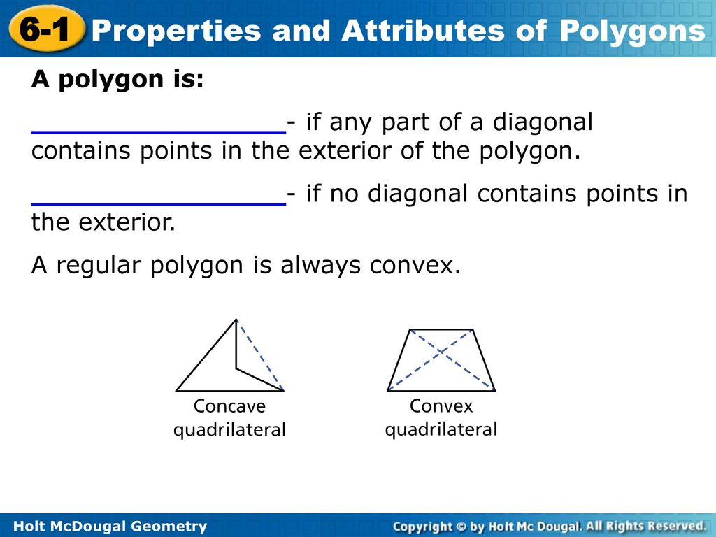 Objectives Classify Polygons Based On Their Sides And Angles Ppt Download