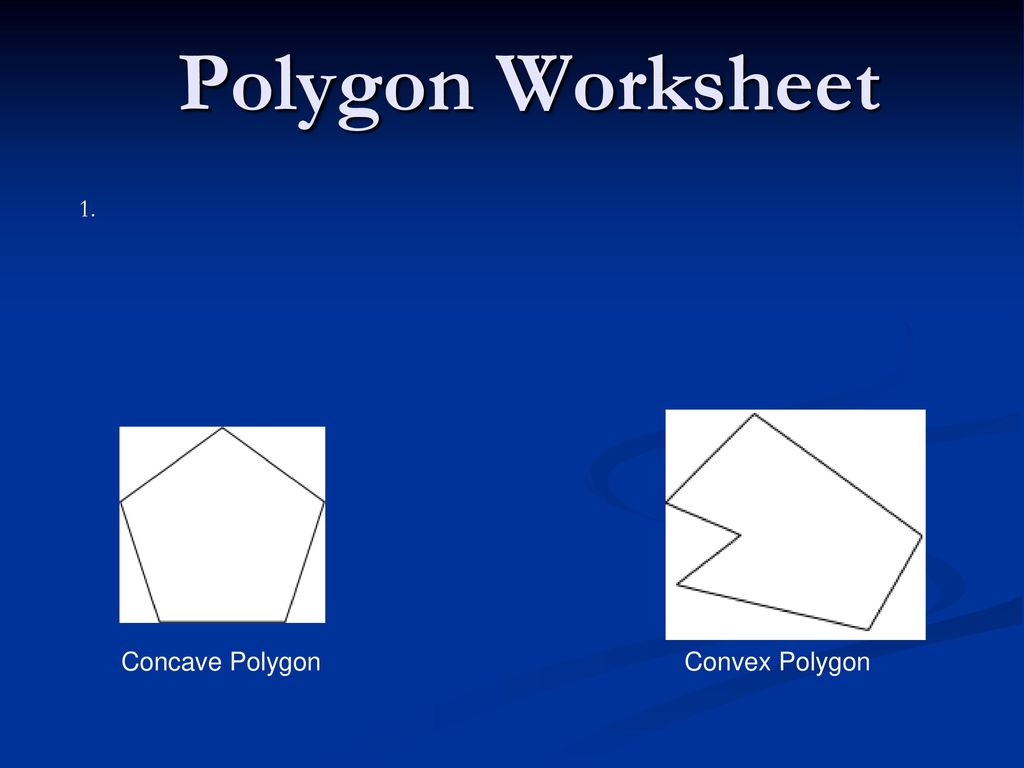 Worksheets Polygon Worksheets polygon worksheet 1 concave convex ppt video polygon