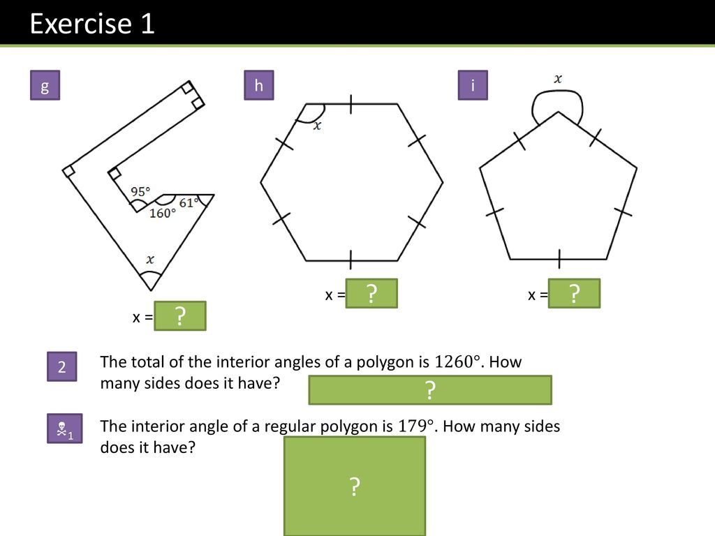 Skipton girls high school ppt download - Total exterior angles of a polygon ...