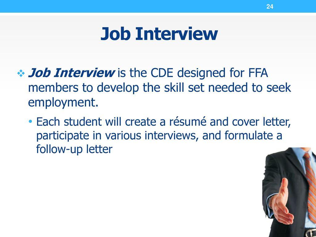 ffa career development events ppt download