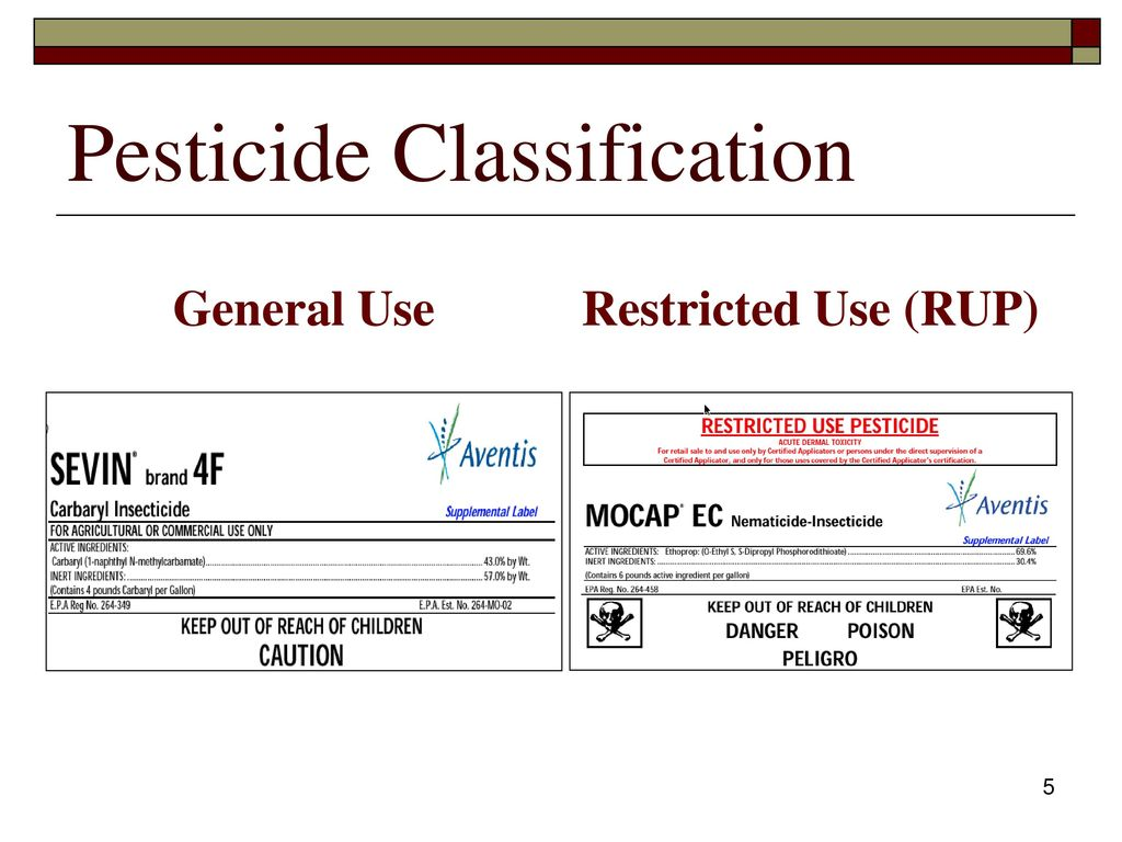 Pesticide applicator certification core review ppt download 5 pesticide classification 1betcityfo Gallery