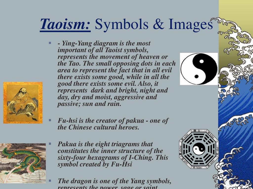Taoism the way of harmony with nature ppt download 7 taoism symbols images buycottarizona Images