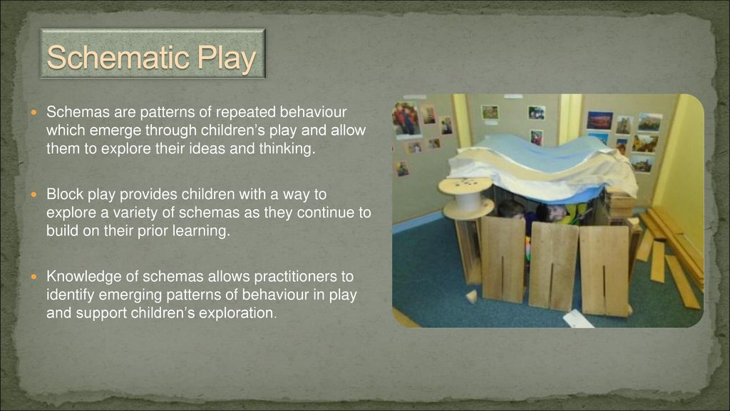schemas in early years pdf