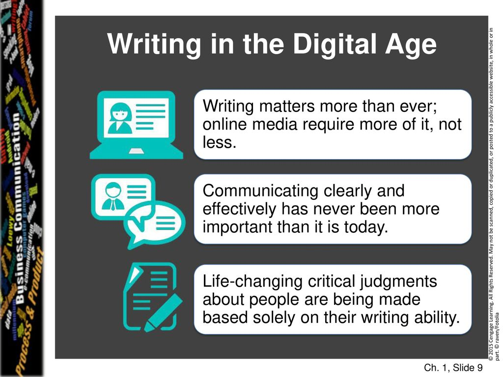 Writing : a manual for the digital age