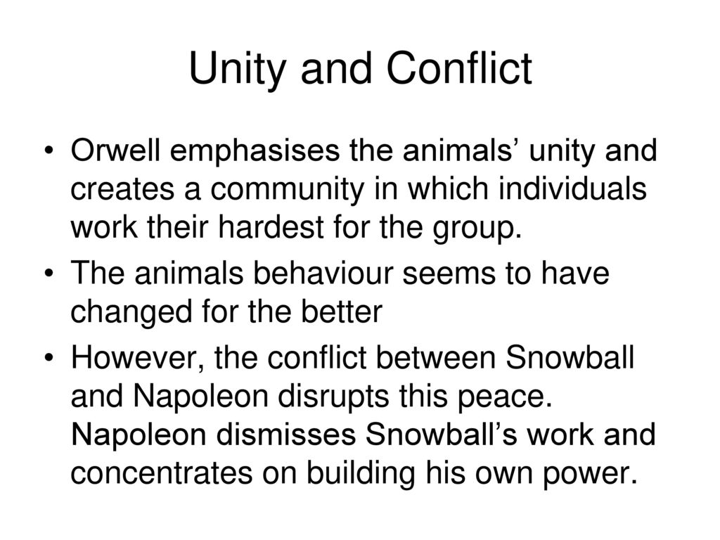 describe the relationship between napoleon and snowball in animal farm