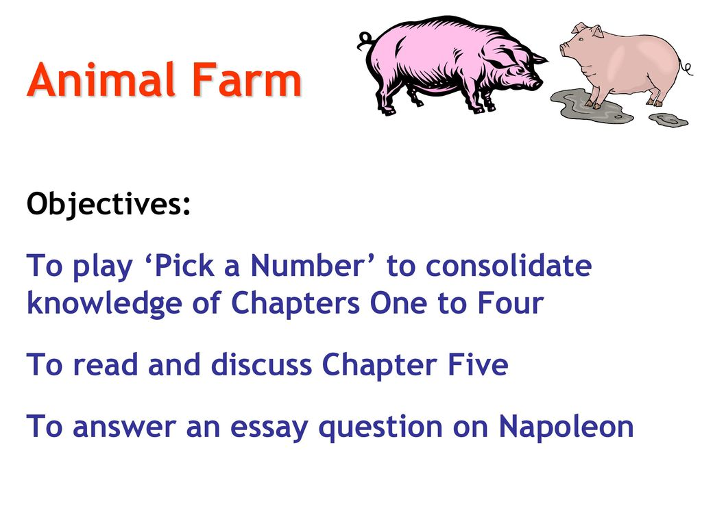 animal farm english literature ppt  68 animal farm objectives