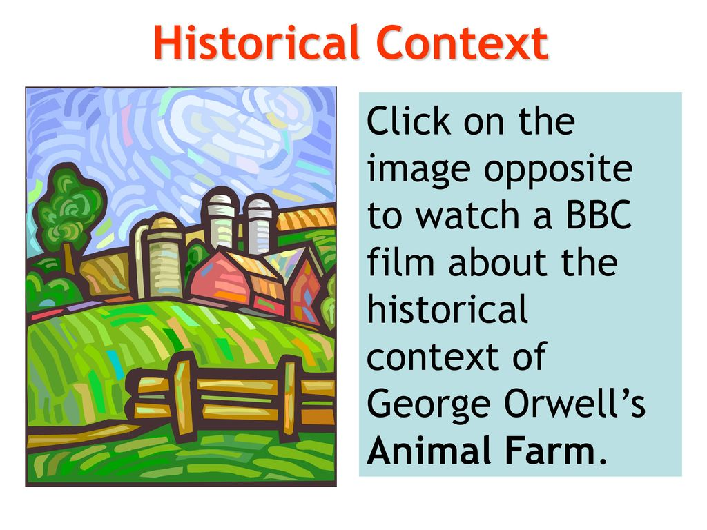a comparison of the events in animal farm by george orwell and the russian revolution of 1917 During the war orwell began to realise the true nature of stalin's rule in russia the actions of the communists in spain exposed to him how false the idea was that russia was a socialist state he then went on to write animal farm as a way to remind people about the true facts of the russian revolution and the nature of.