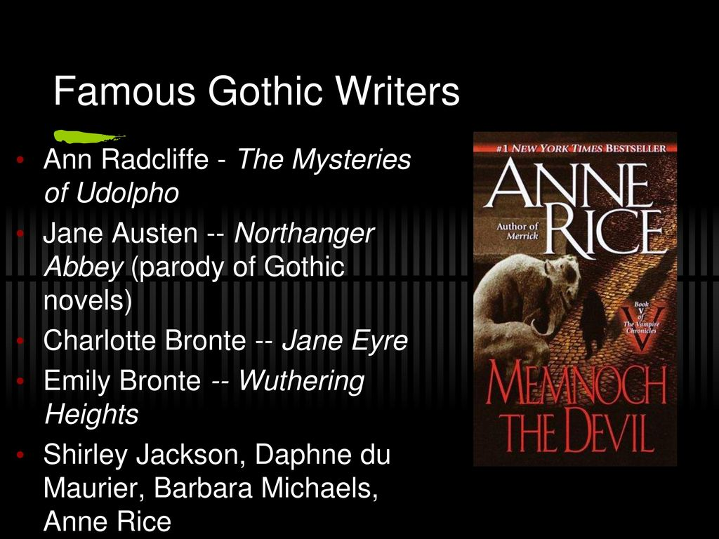 characteristics of gothic literature - ppt video online download, Powerpoint templates