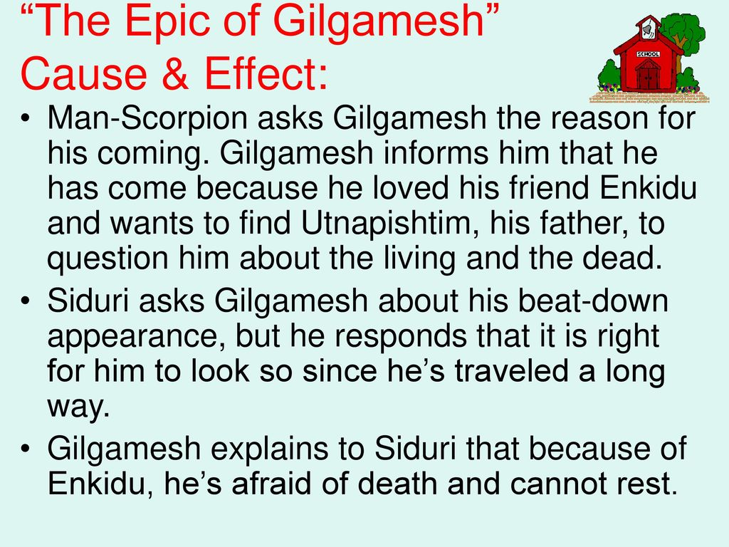 appearances can be deciving in the epic of gilgamesh You can't because the epic of gilgamesh is the oldest surviving work of  literature in the world yes, you got that right: the epic tale of action and adventure  you.