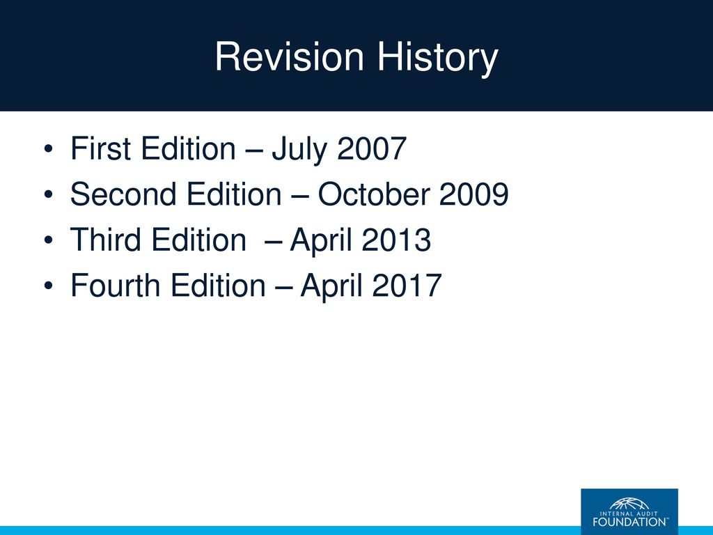 Internal auditing assurance advisory services fourth edition revision history first edition july 2007 fandeluxe Gallery