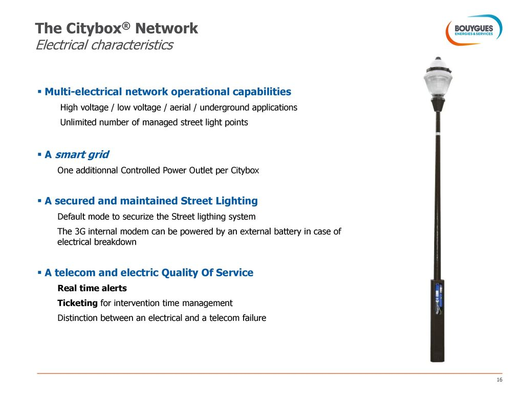 Your multi-service street lighting network - ppt video online download