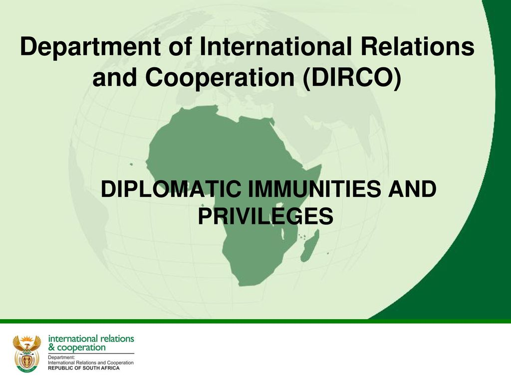 a study of diplomatic immunities and privileges Based on the study, it highlights the need for a well-balanced and  of diplomatic  privileges and the balance between immunities and the duty.