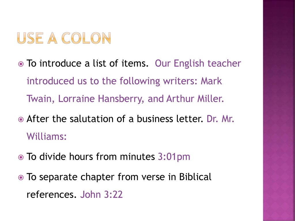 Semicolons Colons Italics Quotation Marks And Hyphens Ppt