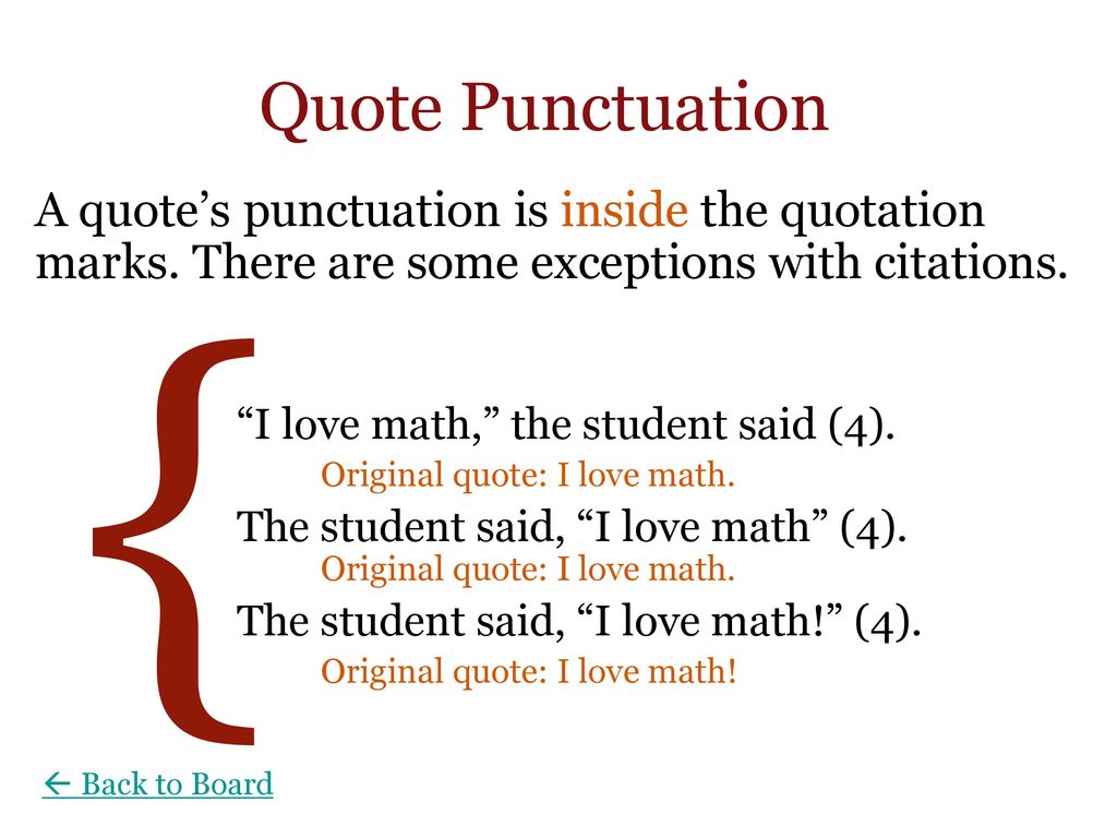 Quote Punctuation Wells College Writing Center  Ppt Download