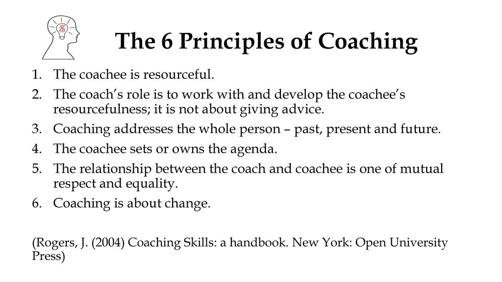 principles skills and impact of coaching Although there are many principles of quality coaching techniques, there are  some that will have the biggest impact on those being coached.