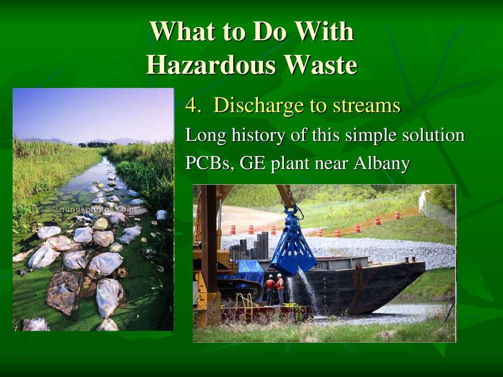 the hazardous toxic waste in canada Listed wastes include wastes from industrial processes, waste chemicals and severely toxic wastes a listed waste is defined as: an acute hazardous waste chemical.