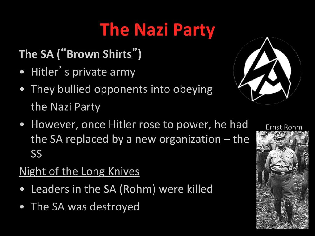 account of the rise to power of the nazi party ====the growth of nazi power 1920-33==== the consequences of the munich putsch my account sign in don't have an account register start a wiki advertisement vandyke history the rise of the nazi party 1920-1933.