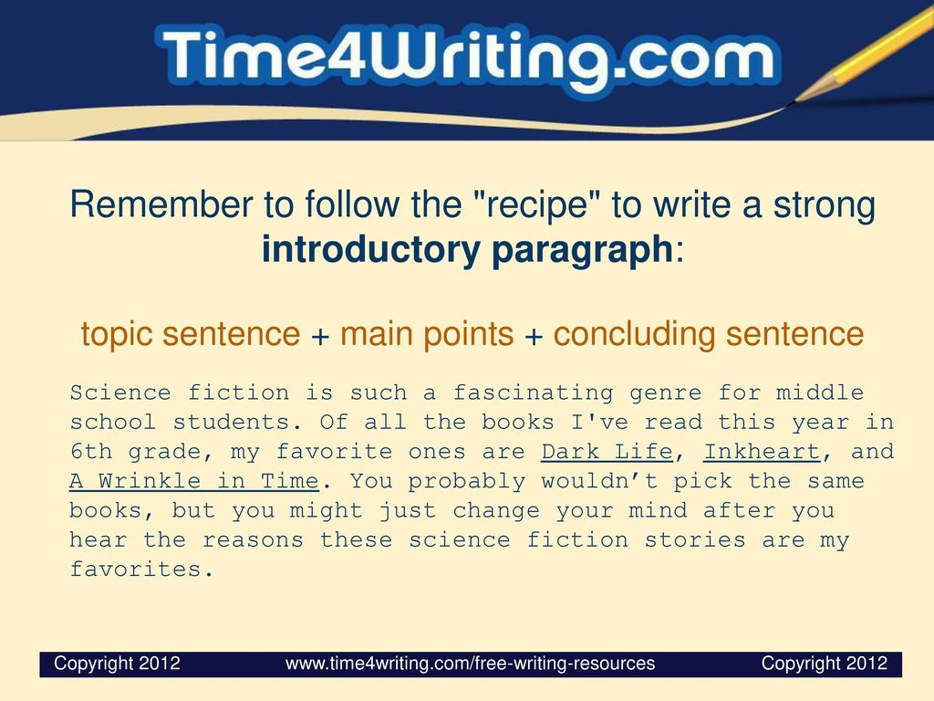 How to Write an Introduction Sentence for a Persuasive Essay
