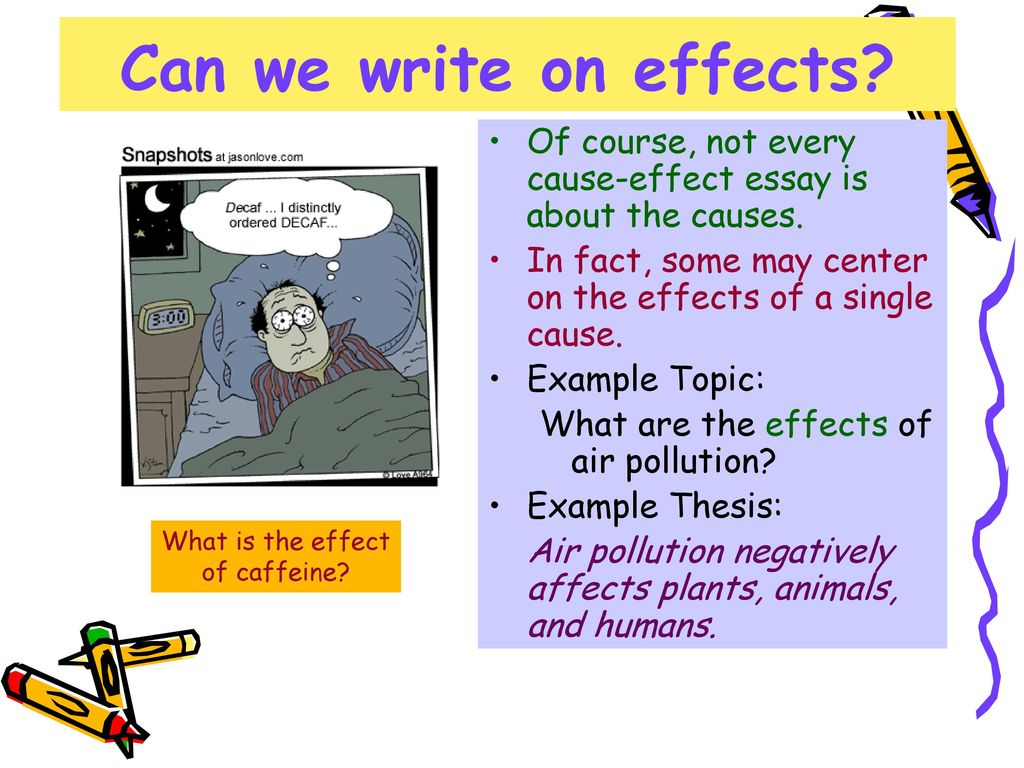 causes and effect of air pollution essay Smog hanging over cities is the most familiar and obvious form of air pollution but there are different kinds of pollution—some visible, some invisible—that contribute to global warming.