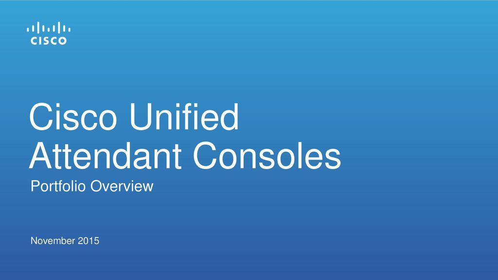 Replacement for cisco attendant console cisco community.
