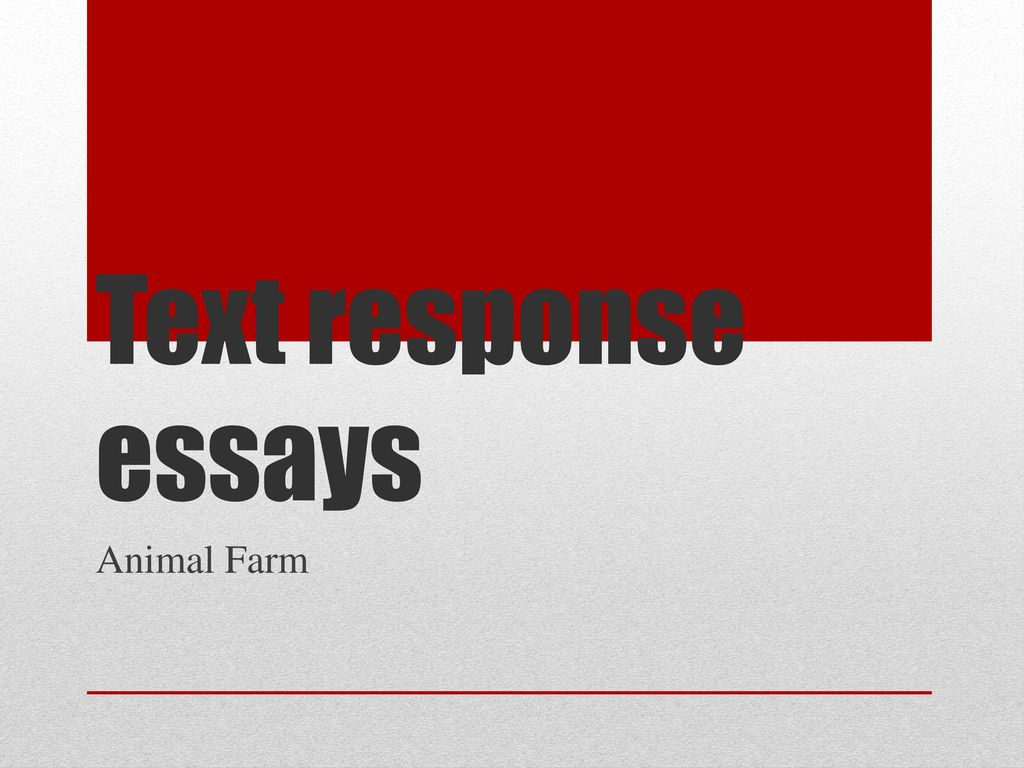 animal farm theme essay Animal farm study guide contains a biography of george orwell, literature essays, quiz questions, major themes, characters, and a full summary and analysis.