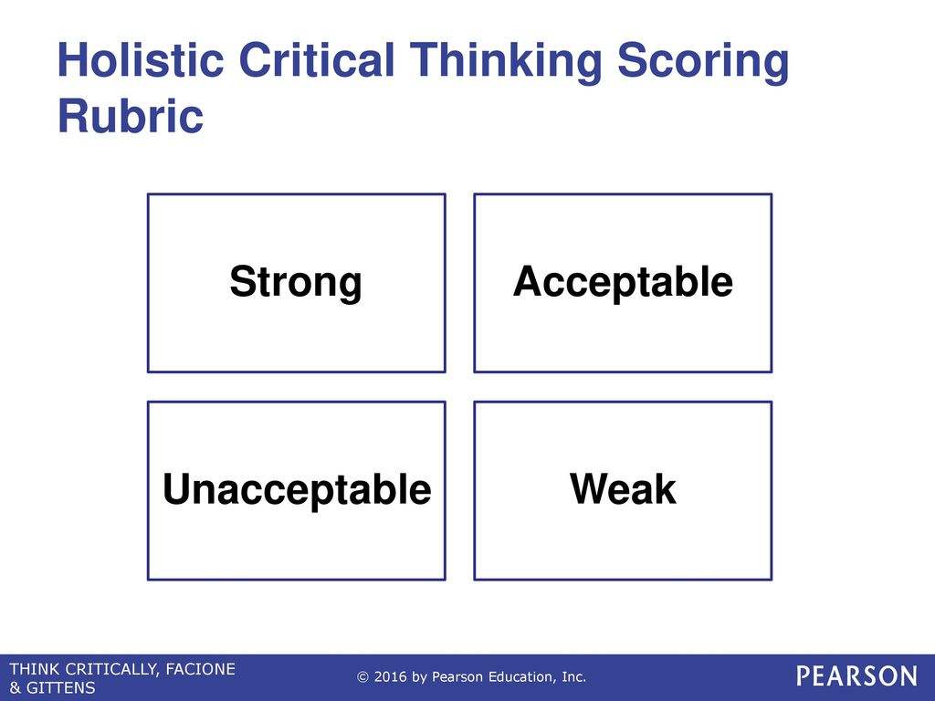 holistic critical thinking scoring rubric hctsr For critical for critical thinking analytic rubric hctsr  level holistic rubric for critical thinking as  and cornell critical thinking scoring rubric.